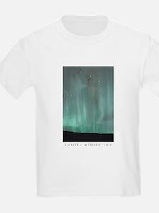 Aurora Meditation Kids T-Shirt