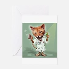 Cat- Get Well Greeting Card