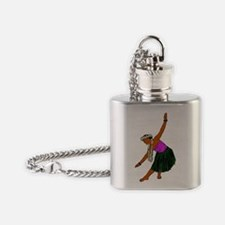 Kaina 9 Inked extracted Flask Necklace