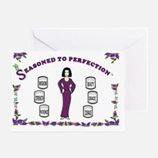 Seasoned to Perfection-14x10-Framed. Greeting Card