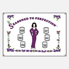 Seasoned to Perfection-14x10-Framed.Print Banner
