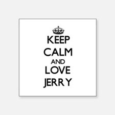 Keep Calm and Love Jerry Sticker