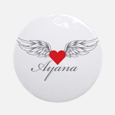Angel Wings Ayana Ornament (Round)