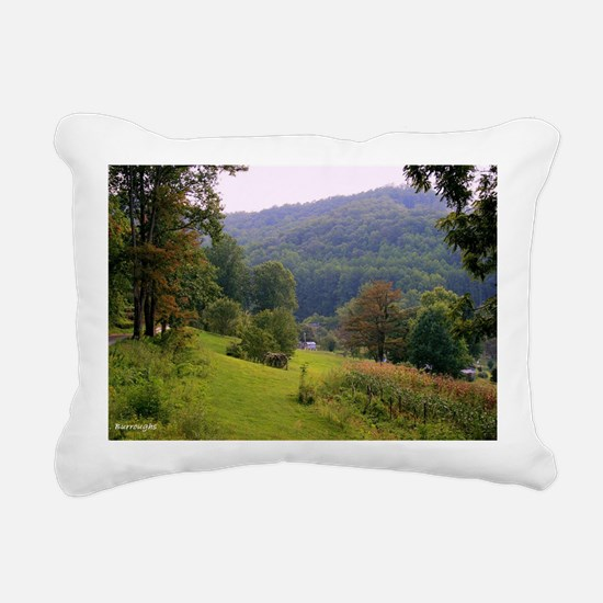 Mountainvalleyslargepost Rectangular Canvas Pillow