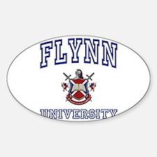 FLYNN University Oval Decal