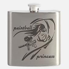 paintball princess Flask