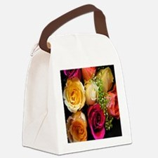 roses keepsake box Canvas Lunch Bag