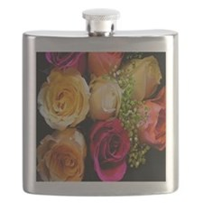 roses keepsake box Flask