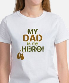 Dog Tag Hero Dad Tee