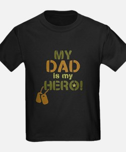 Dog Tag Hero Dad T
