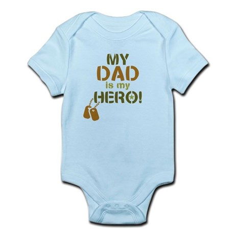 Dog Tag Hero Dad Infant Bodysuit