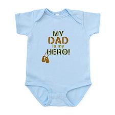 Dog Tag Hero Dad Infant Bodysuit
