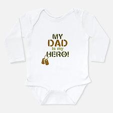 Dog Tag Hero Dad Onesie Romper Suit