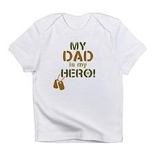 Dog Tag Hero Dad Infant T-Shirt