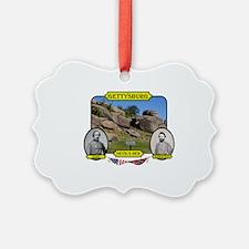 Gettysburg-Devils Den Ornament