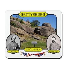 Gettysburg-Devils Den Mousepad