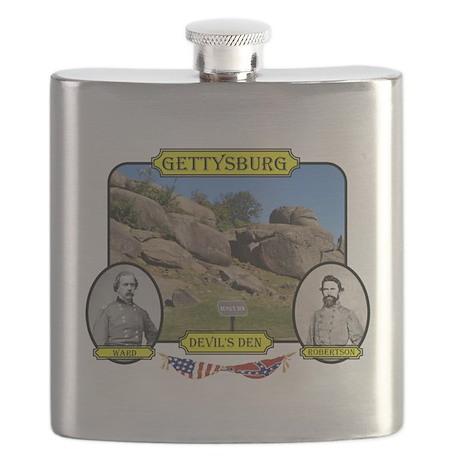 Gettysburg-Devils Den Flask