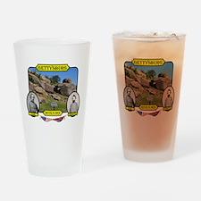 Gettysburg-Devils Den Drinking Glass