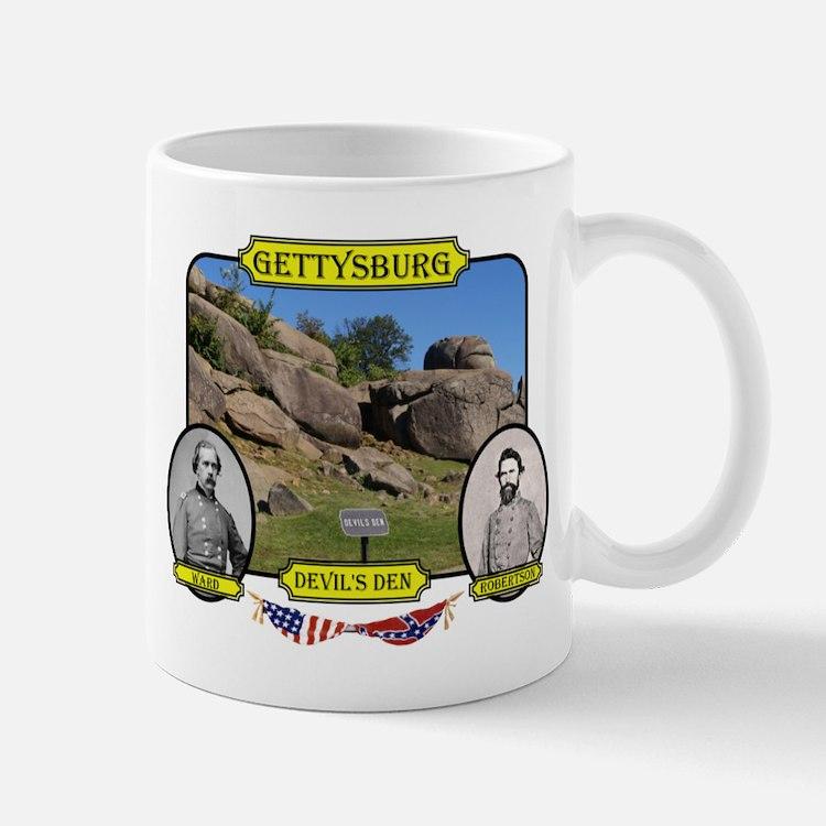 Gettysburg-Devils Den Mugs
