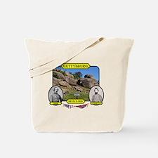 Gettysburg-Devils Den Tote Bag