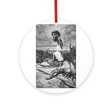 DAVID'S VICTORY Ornament (Round)