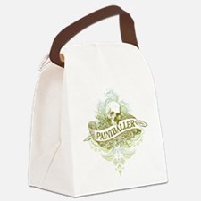 urban paintballer Canvas Lunch Bag