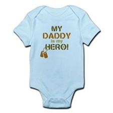 Dog Tag Hero Daddy Infant Bodysuit