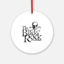 TheBlackRock001 Round Ornament