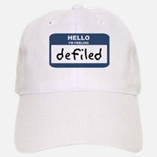Feeling defiled Baseball Baseball Cap