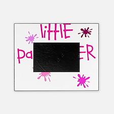 little paintballer girl Picture Frame