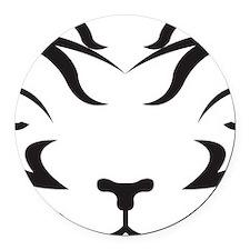 TigerLogo4 Round Car Magnet