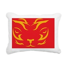 TigerLogo1 Rectangular Canvas Pillow