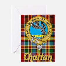 chat5.5x8.5-b Greeting Card