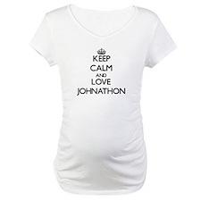 Keep Calm and Love Johnathon Shirt