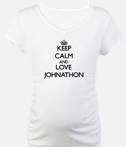 Keep Calm and Love Johnathon Shirt