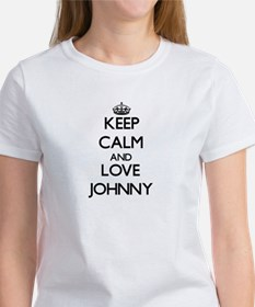 Keep Calm and Love Johnny T-Shirt