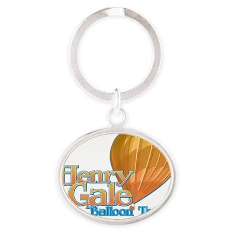 HenryGale01 Oval Keychain