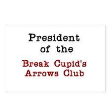 Break Cupid's Arrows Postcards (Package of 8)