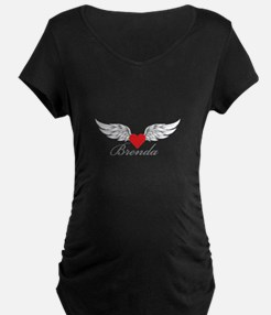 Angel Wings Brenda Maternity T-Shirt