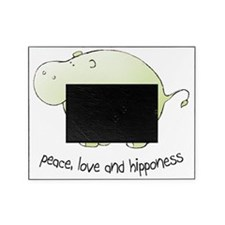 2-green_peace_love_hipponess Picture Frame