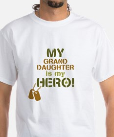 Dog Tag Hero Granddaughter Shirt