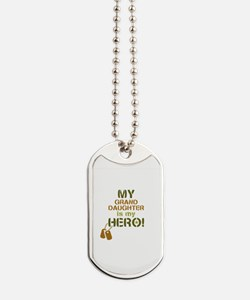 Dog Tag Hero Granddaughter Dog Tags