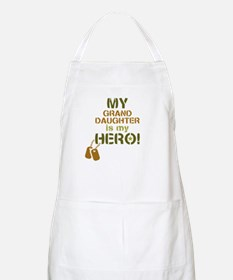 Dog Tag Hero Granddaughter Apron