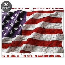 Create Change Volunteer American Flag Puzzle