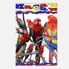 Macaw Mosaic Postcards (Package of 8)