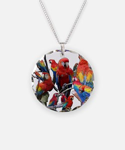 Macaw Mosaic Necklace