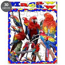Macaw Mosaic Puzzle