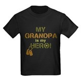 Hero grandpa Kids T-shirts (Dark)