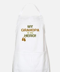 Dog Tag Hero Grandpa Apron
