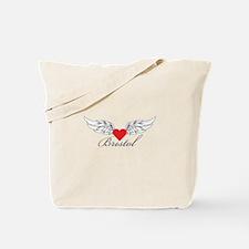 Angel Wings Bristol Tote Bag